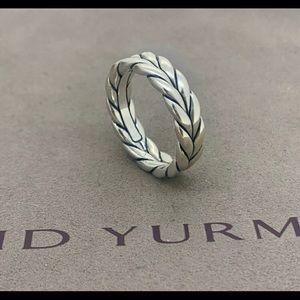 Chevron David yurman ring